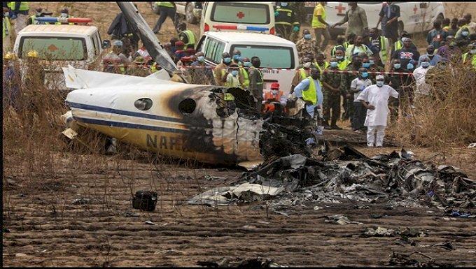 নাইজেরিয়ায় সামরিক বিমান বিধ্বস্ত হয়ে সাতজন নিহত
